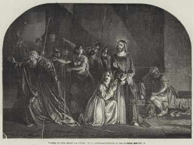 Peter Denying Christ, Exhibition of the National Institution--Giclee Print