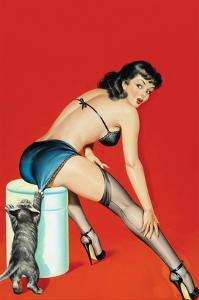 Flirt Magazine; Playful Pussy by Peter Driben