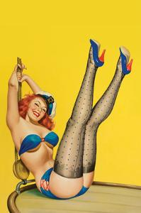 Flirt Magazine; Sailor Girl by Peter Driben