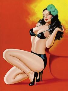 Mid-Century Pin-Ups - Beauty Magazine - Hot in Black by Peter Driben