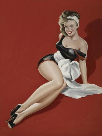 Mid-Century Pin-Ups - Magazine Cover - The Gift