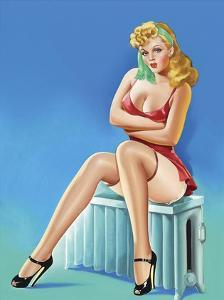 Mid-Century Pin-Ups - Wink Magazine - Warm Thoughts by Peter Driben