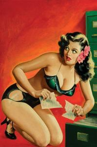 Special Detective Pulp Cover; Evidence by Peter Driben