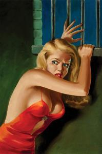 The Prisoner - Pulp Cover by Peter Driben