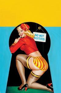 "Whisper Magazine; ""Through the Keyhole"" by Peter Driben"