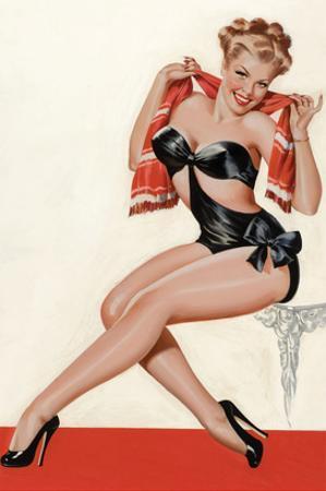 Wink Magazine; Silk Stockings and High Heels