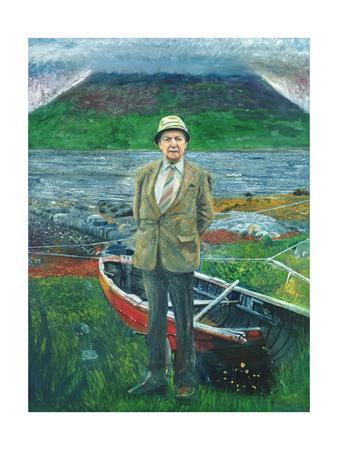 Portrait of Sorley Maclean