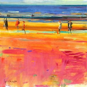 Boulevard De La Plage, 2011 by Peter Graham
