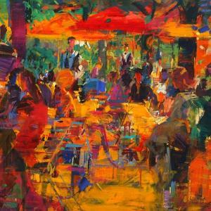 Cafe De Paris by Peter Graham