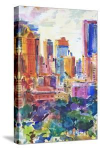 Central Park West, 2011 by Peter Graham