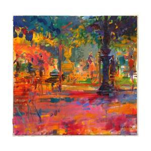 La Terrasse Du Jardin by Peter Graham