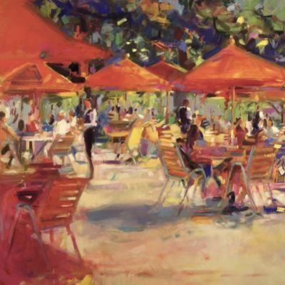 Le Cafe Du Jardin by Peter Graham