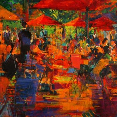 Le Grand Cafe, 2011 by Peter Graham