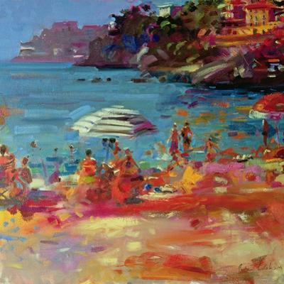 Monaco Coast, 2000 by Peter Graham