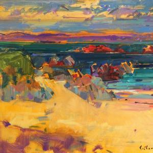 North End, Iona, 2012 by Peter Graham