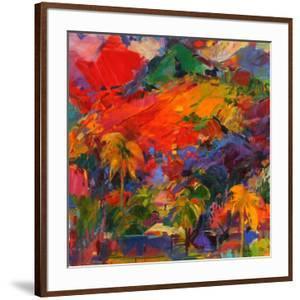 Paysage Polynesien, 2011 by Peter Graham