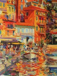 Reflections, Villefranche, 2002 by Peter Graham
