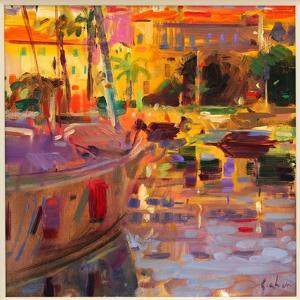 Southern French Port by Peter Graham