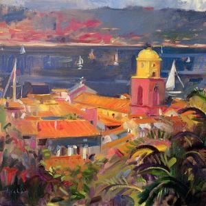 St Tropez Sailing, 2002 by Peter Graham