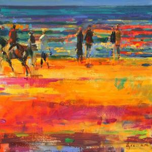 The Canter, Paris Plage by Peter Graham