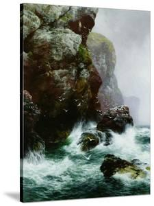 The Fowler's Crag, 1887 by Peter Graham