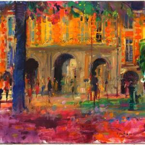 The Royal Pavillion, Place Des Vosges by Peter Graham
