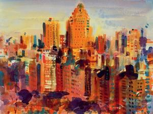 Upper Manhattan, 2000 by Peter Graham