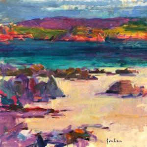 White Sands, Iona, 2011 by Peter Graham