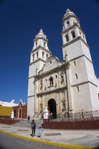 Cathedral, Nuestra Signora de Purisima Concepcion, Campeche, UNESCO World Heritage Site, Mexico, No by Peter Groenendijk