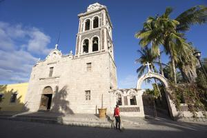 Church la Signora de Loreto 1697, the first Jesuit mission in Baja California, San Loreto, Baja Cal by Peter Groenendijk