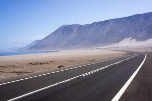 Coastal Road, Atacama Desert, Chile by Peter Groenendijk