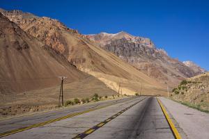 Main Road, Atacama Desert, Argentina by Peter Groenendijk