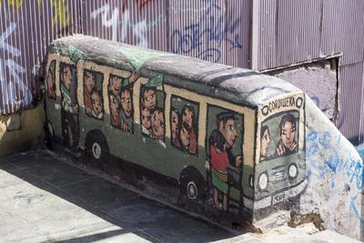 Wonderful Graffiti, Valparaiso, Chile