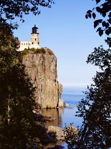 Split Rock Lighthouse, Two Harbors, Lake Superior, Minnesota by Peter Hawkins