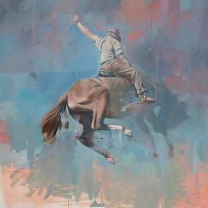 Vintage Rodeo by Peter Hawkins