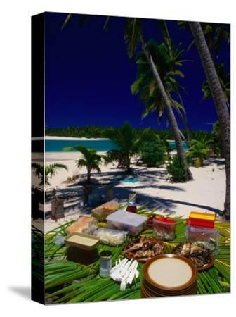 Banquet on Beach, Cook Islands