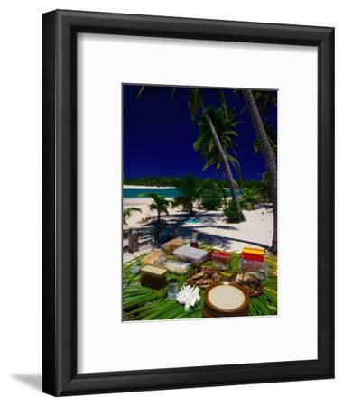 Banquet on Beach, Cook Islands
