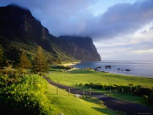 Coastal Landscape, Lord Howe Island, New South Wales, Australia by Peter Hendrie
