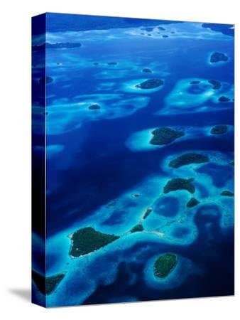 Marovo Lagoon in the Solomon Islands, Marovo Lagoon, Western Province, Solomon Islands