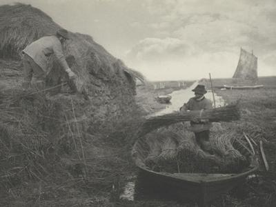 Ricking the reed by Peter Henry Emerson