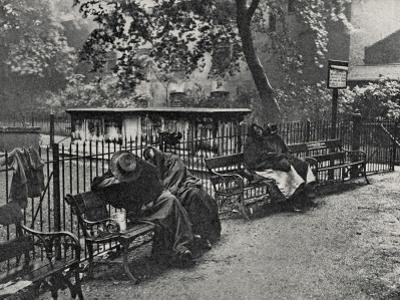 Women Vagrants Sleeping, Spitalfields, East End of London