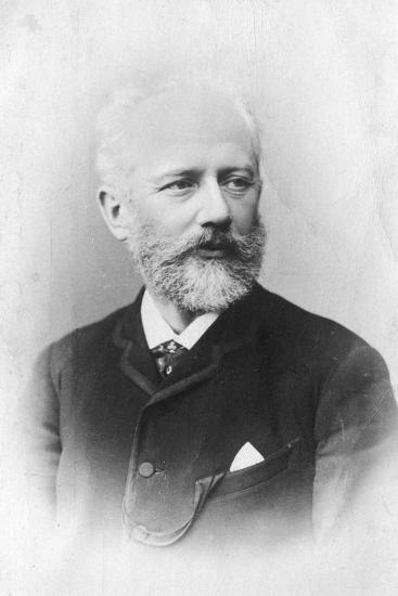 Peter Ilich Tchaikovsky, (1840-189), Russian Composer--Giclee Print