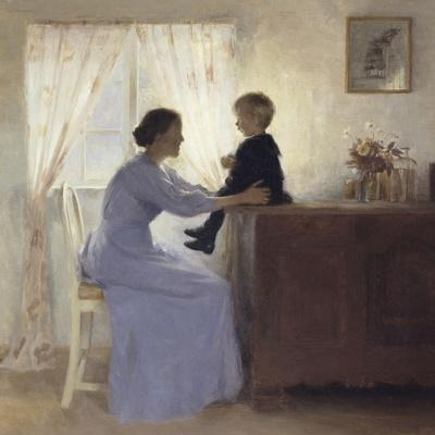 Mother and Child in an Interior, 1898