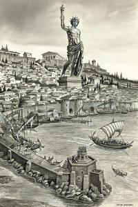 Colossus of Rhodes by Peter Jackson