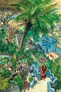 Hanging Gardens Babylon by Peter Jackson