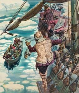 Henry Hudson Being Set Adrift by Peter Jackson