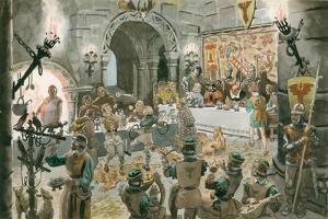 Medieval Banquet by Peter Jackson