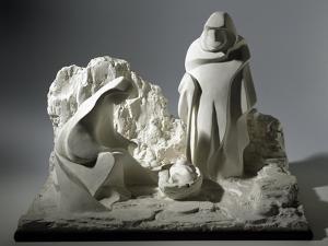 Nativity, Nativity Scene Made of Plaster by Peter Jackson