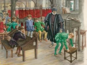 Punishment at School in the Tudor Age by Peter Jackson