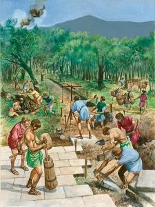 Roman Road Construction by Peter Jackson